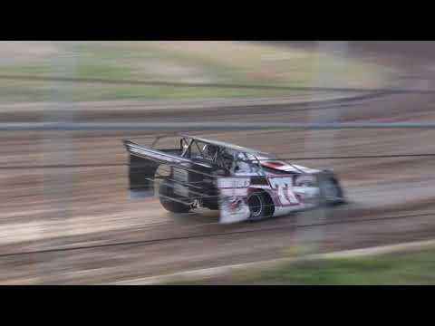 6-23-18 Junction Motor Speedway NCRA Late Model Heat Race Cory Dumpert