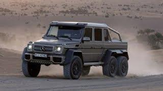Mercedes-Benz G 63 AMG 6X6 promo(Шестиколесный Mercedes-Benz G 63 AMG 6X6 mercedes 6x6, mercedes amg 6x6, mercedes benz 6x6, mercedes g63 6x6, mercedes 6x6 g63 amg, ..., 2014-04-11T19:39:23.000Z)
