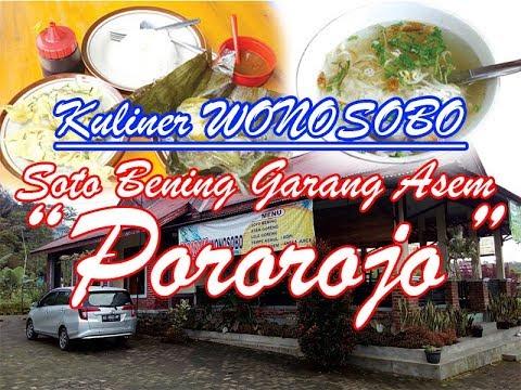 Kuliner Wonosobo Soto Bening Garang Asem Pororojo Mojotengah
