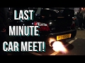 Crazy Car Meet! - Car Culture UK Last Minute Meet