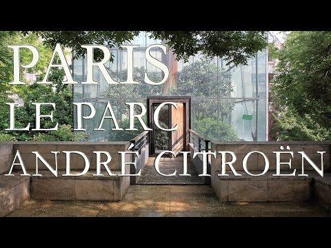Paris : le Parc André Citroën