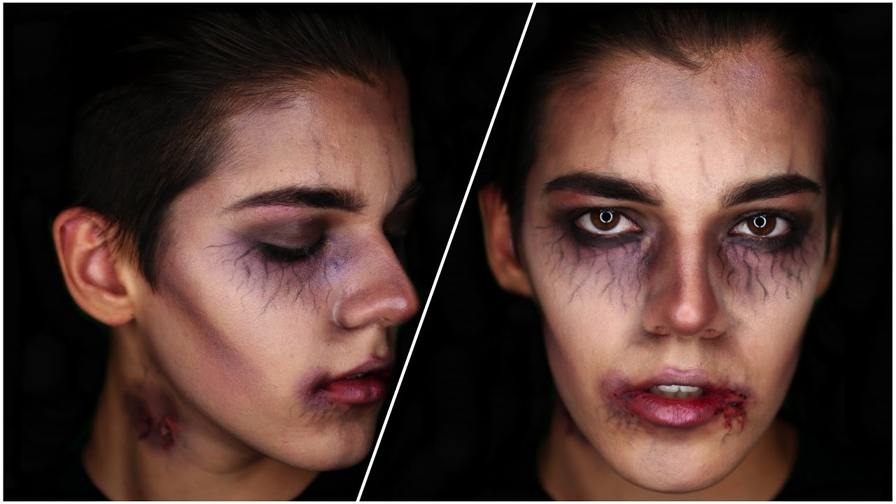 Vampire Halloween Makeup Tutorial! DIY SFX 2016 - YouTube