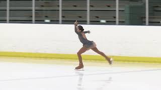 Alysa Liu, 2018 Central Pacific Regional Figure Skating Championship, Junior Ladies Free Skate