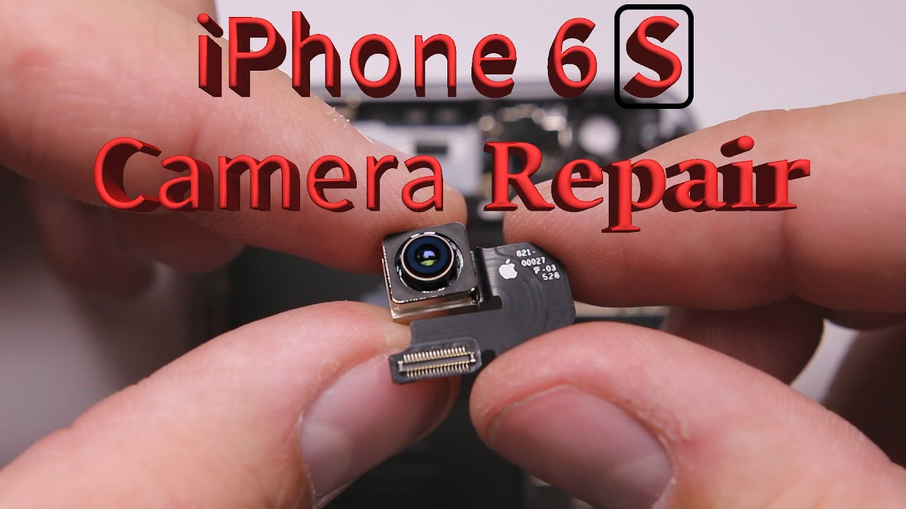 competitive price ec653 d8f6f iPhone 6S Camera and Broken Lens Replacement video