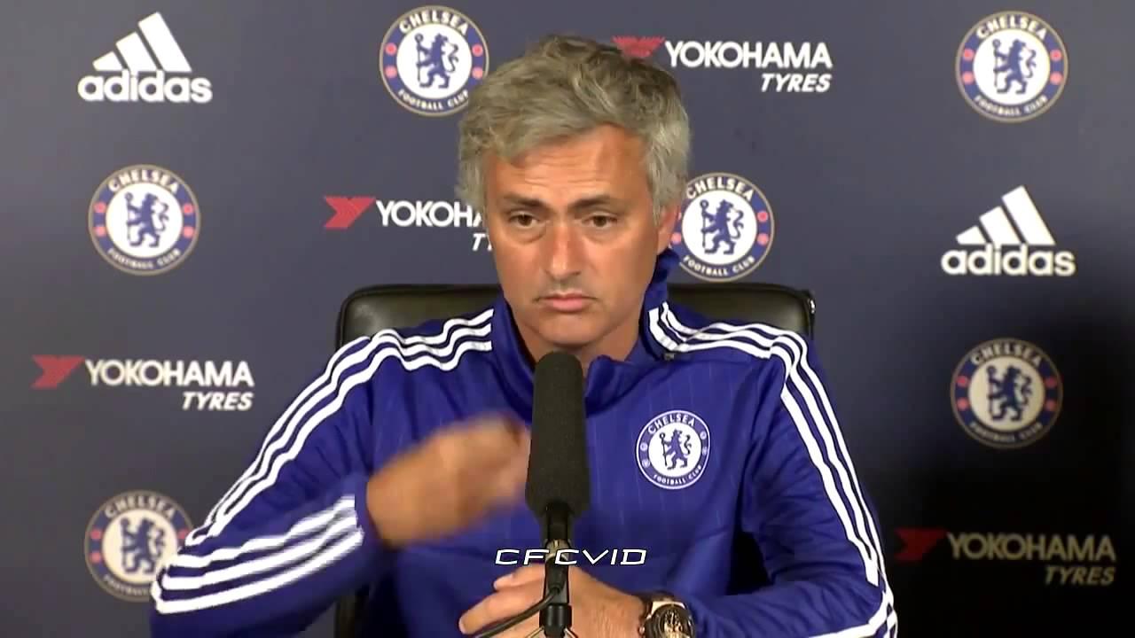 Jose Mourinho pre match press conference Chelsea vs Crystal Palace