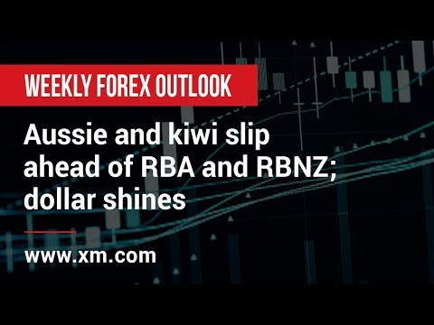 Weekly Forex Outlook: 03/05/2019 - Aussie and kiwi slip ahead of RBA and RBNZ; dollar shines