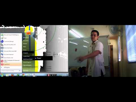 Controlling mouse functions using Kinect in emulating interactive whiteboard