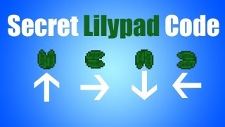 Minecraft - Secret Lilypad Code
