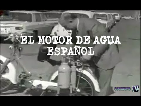 1970, motor de agua de Arturo Estévez Varela