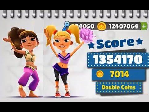 Subway Surfers Peru VS Singapore iPad Gameplay for Children HD #198