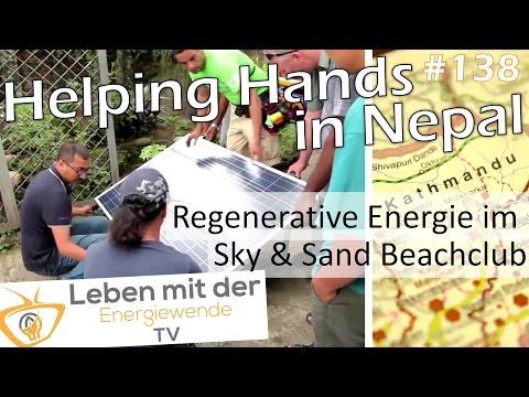 Helping Hands in Nepal & Regenerative Energie im Sky&Sand Beachclub