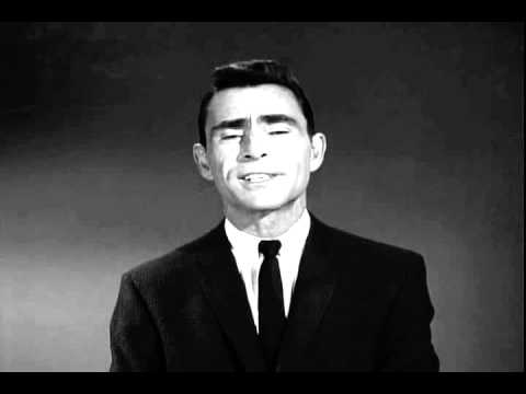 "Rod Serling intro for The Twilight Zone's ""He's Alive"""