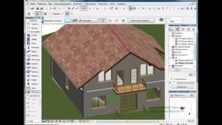 Инструмент 3D сетка в ArchiCAD