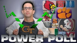 Yellow Jackets, Young Gunz, Yummy Cupcakes | Jeff Fischel's Acc Power Poll