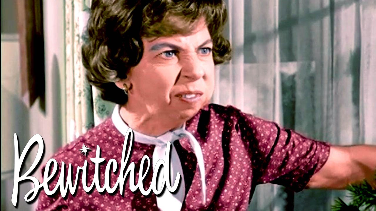 Samantha Gets Caught Doing Magic   Bewitched