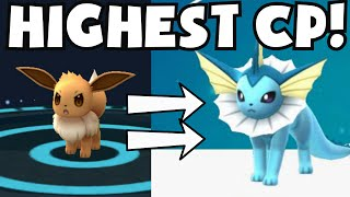 Pokemon Go HIGH CP EEVEE EVOLUTION TO VAPOREON FLAREON JOLTEON | MASS RARE POKEMON EVOLVING SPREE