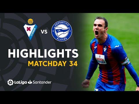 Eibar Alaves Goals And Highlights