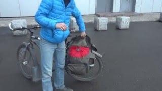 Обзор новой велосипедной сумки