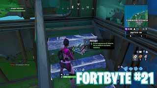 Fortnite Battle Royale ? Fortbyte Challenges How to get the Fortbyte #21