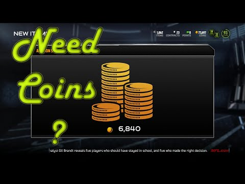 Madden 15 Ultimate Team [Coin making Tips] #1