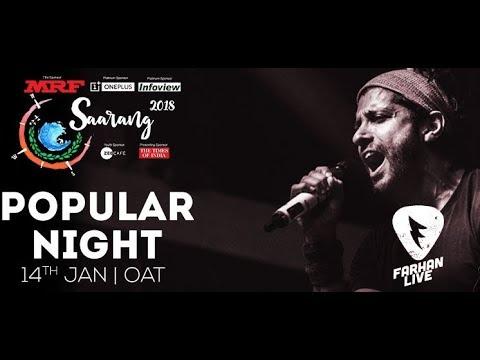Farhan Akhtar Live | Saarang 2018 | IIT-Madras
