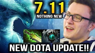 MIRACLE Dota 7.11 NEW UPDATE Still Spaming Morphling