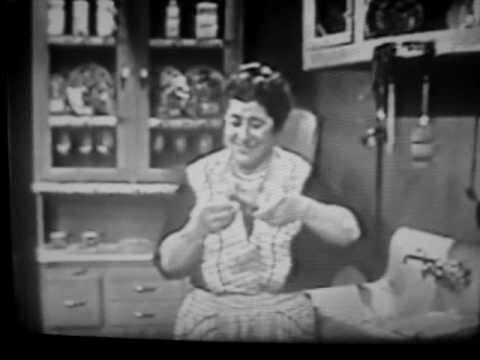 The Goldbergs-1950's Live NBC TV Opening Segment