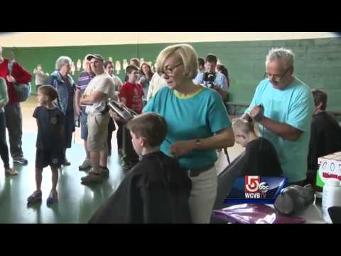 South Boston boy turns summer haircut into fundraiser for mom