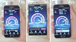 Vodafone 4G+ Vs. 4G Vs. 3G