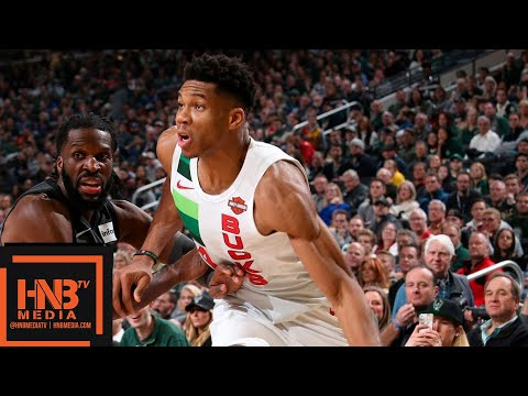 Milwaukee Bucks vs Brooklyn Nets Full Game Highlights | 12/29/2018 NBA Season