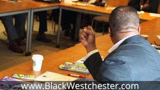 Rev. Dennis Dillon speaking on developing black economics and global trade