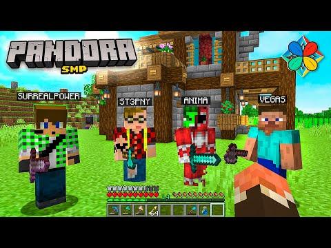 SONO ENTRATI I MATES! MA HANNO RUBATO TUTTO! - Pandora SMP Minecraft ITA