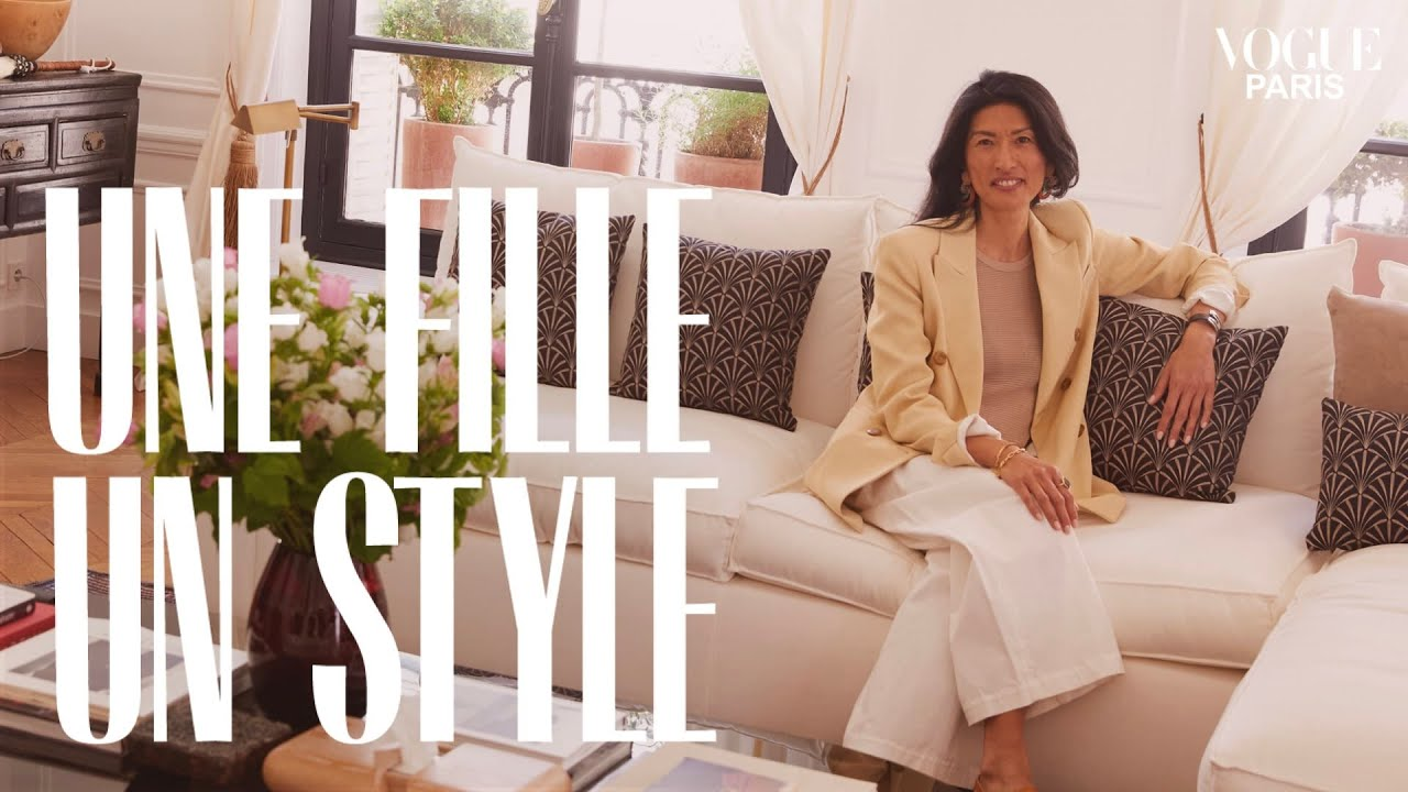 Leia Sfez shows us round her chic and timeless French apartment  Une Fille Un Style  Vogue Paris