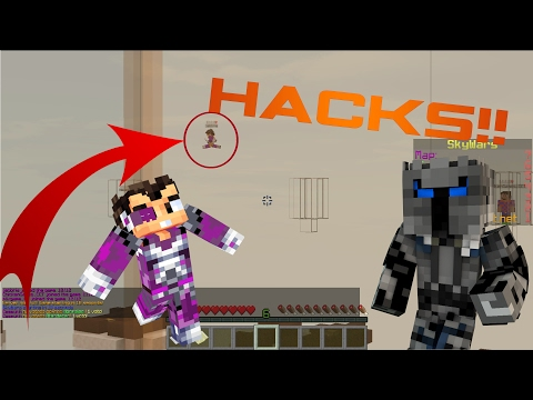 "VEGETTA777 USA HACKS!! -MINECRAFT ""SKYWARS"""