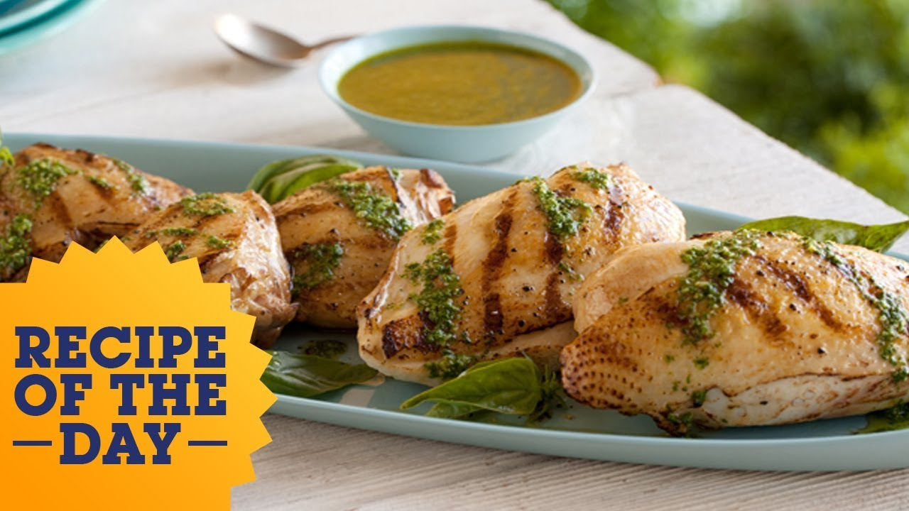 Recipe of the day giadas grilled chicken with basil dressing recipe of the day giadas grilled chicken with basil dressing food network forumfinder Images