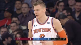 Miami Heat vs New York Knicks Full Game Highlights November 29 2017