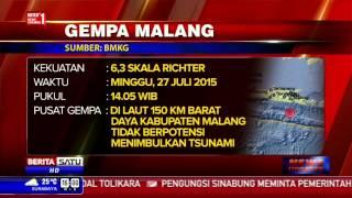 Gempa 6,3 SR Guncang Malang