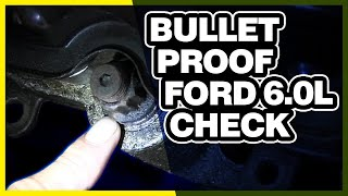 How To Check for a Studded Engine   Bulletproofed 6.0L Powerstroke