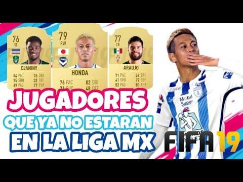 Estrellas de la LIGA MX Que Se Fueron - FIFA 19