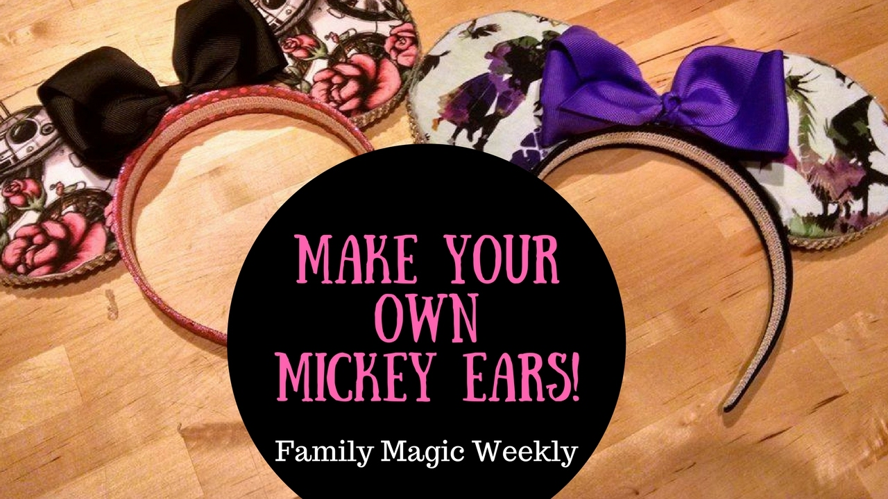 make your own mickey ears  a disney craft by amanda