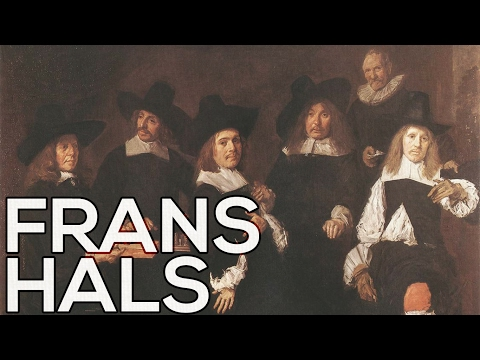 Frans Hals: A collection of 164 paintings (HD)