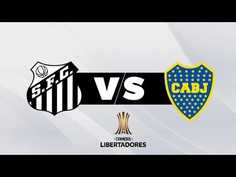 SANTOS VS BOCA JUNIORS / COPA CONMEBOL LIBERTADORES / GRUPO C / 11 DE MAYO / SIMULACION / IMBATIBLE