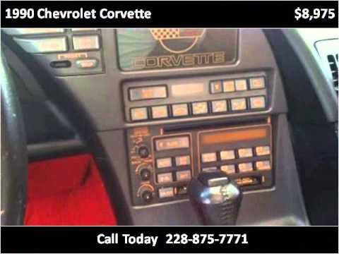 1990 Chevrolet Corvette Used Cars Ocean Springs MS