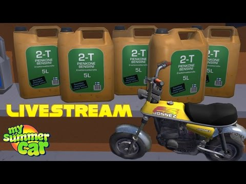MY SUMMER CAR - THE MOPED EXCLUSIVE #1 (2-Stroke Fuel - Satsuma Glovebox Hatch)