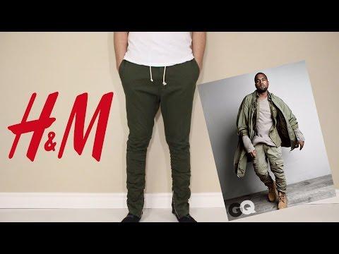 Fear of God, Kanye West & Jerry Lorenzo Inspired Twill Zipper Pants, H&M Review, Yeezy Season