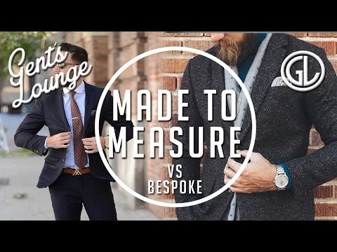 Made to Measure VS Bespoke (Ft. Strong Suit Clothing) || Gent's Lounge