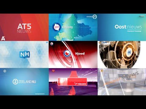 Dutch Regional News Intros Compilation (CC) (HD)
