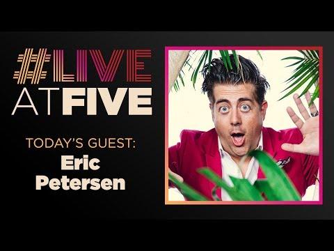 Broadway.com LiveatFive with Eric Petersen of ESCAPE TO MARGARITAVILLE