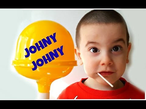 Thumbnail: Johny Johny Yes Papa LEARN COLORS with Giant Lollipop & Happy Baby - Simple Songs For Children