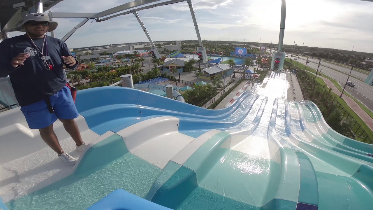 All New Waterpark in Central Florida Island H2O Live! - Theme Park HD